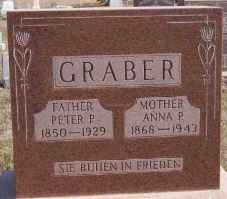 GRABER, ANNA P - Turner County, South Dakota   ANNA P GRABER - South Dakota Gravestone Photos