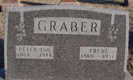 GRABER, PETER JNO - Turner County, South Dakota | PETER JNO GRABER - South Dakota Gravestone Photos