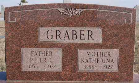 GRABER, KATHERINA - Turner County, South Dakota   KATHERINA GRABER - South Dakota Gravestone Photos