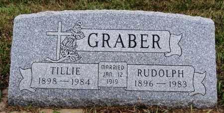 GRABER, TILLIE - Turner County, South Dakota   TILLIE GRABER - South Dakota Gravestone Photos