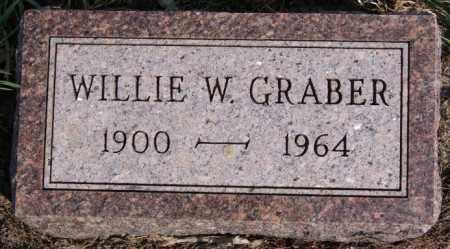 GRABER, WILLIE W - Turner County, South Dakota | WILLIE W GRABER - South Dakota Gravestone Photos