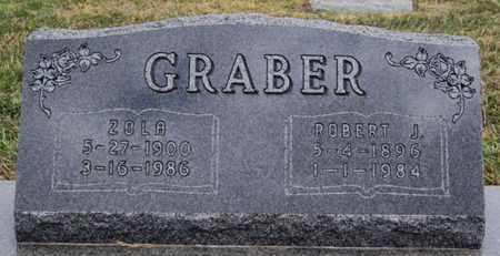 GRABER, ROBERT J - Turner County, South Dakota | ROBERT J GRABER - South Dakota Gravestone Photos