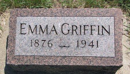 GRIFFIN, EMMA - Turner County, South Dakota | EMMA GRIFFIN - South Dakota Gravestone Photos