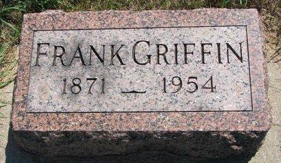 GRIFFIN, FRANK - Turner County, South Dakota | FRANK GRIFFIN - South Dakota Gravestone Photos