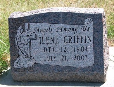 GRIFFIN, ILENE - Turner County, South Dakota | ILENE GRIFFIN - South Dakota Gravestone Photos