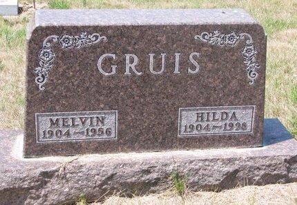 GRUIS, MELVIN - Turner County, South Dakota | MELVIN GRUIS - South Dakota Gravestone Photos