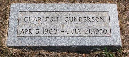 GUNDERSON, CHARLES H. - Turner County, South Dakota   CHARLES H. GUNDERSON - South Dakota Gravestone Photos
