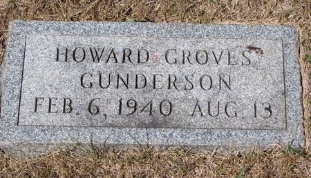 GUNDERSON, HOWARD GROVE - Turner County, South Dakota | HOWARD GROVE GUNDERSON - South Dakota Gravestone Photos