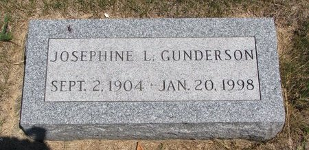 GUNDERSON, JOSEPHINE L. - Turner County, South Dakota | JOSEPHINE L. GUNDERSON - South Dakota Gravestone Photos