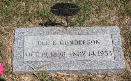 GUNDERSON, LEE ELDON - Turner County, South Dakota | LEE ELDON GUNDERSON - South Dakota Gravestone Photos