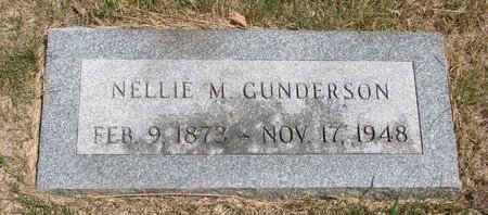 GUNDERSON, NELLIE M. - Turner County, South Dakota | NELLIE M. GUNDERSON - South Dakota Gravestone Photos