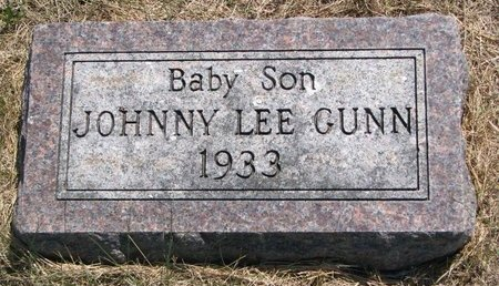 GUNN, JOHNNY LEE - Turner County, South Dakota | JOHNNY LEE GUNN - South Dakota Gravestone Photos