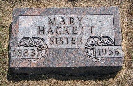 HACKETT, MARY - Turner County, South Dakota | MARY HACKETT - South Dakota Gravestone Photos