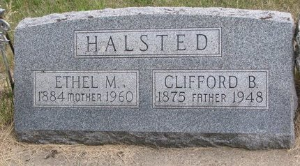 HALSTED, ETHEL M. - Turner County, South Dakota | ETHEL M. HALSTED - South Dakota Gravestone Photos