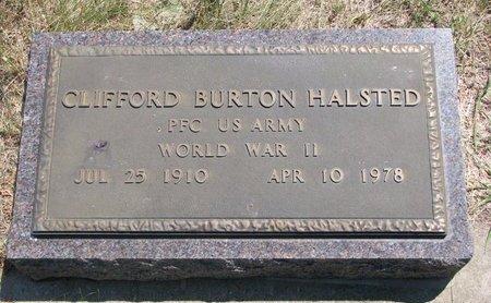HALSTED, CLIFFORD BURTON (MILITARY) - Turner County, South Dakota | CLIFFORD BURTON (MILITARY) HALSTED - South Dakota Gravestone Photos