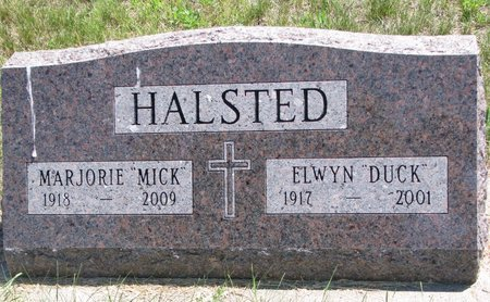 """HALSTED, MARJORIE """"MICK"""" - Turner County, South Dakota 
