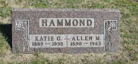 HAMMOND, KATIE G. - Turner County, South Dakota | KATIE G. HAMMOND - South Dakota Gravestone Photos