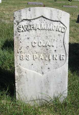 HAMMOND, STEPHEN W. (MILITARY) - Turner County, South Dakota | STEPHEN W. (MILITARY) HAMMOND - South Dakota Gravestone Photos