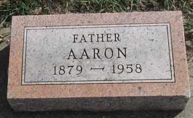 HANSEN, AARON - Turner County, South Dakota | AARON HANSEN - South Dakota Gravestone Photos