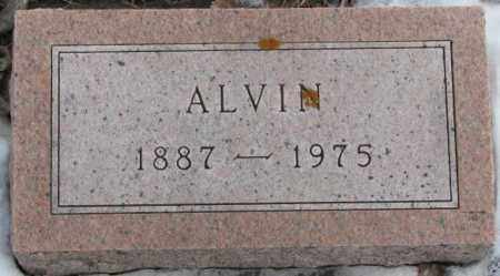 HANSEN, ALVIN (FOOTSTONE) - Turner County, South Dakota | ALVIN (FOOTSTONE) HANSEN - South Dakota Gravestone Photos