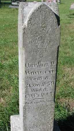 HANSEN, CHRISTIAN P. - Turner County, South Dakota | CHRISTIAN P. HANSEN - South Dakota Gravestone Photos