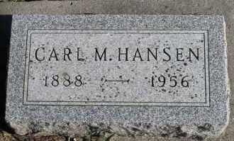 HANSEN, CARL M - Turner County, South Dakota | CARL M HANSEN - South Dakota Gravestone Photos