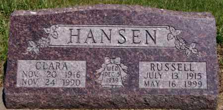HANSEN, RUSSELL - Turner County, South Dakota | RUSSELL HANSEN - South Dakota Gravestone Photos