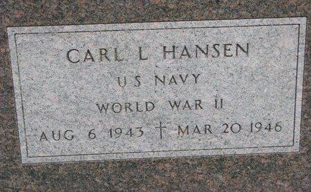 HANSEN, CARL L. (WWII) - Turner County, South Dakota | CARL L. (WWII) HANSEN - South Dakota Gravestone Photos
