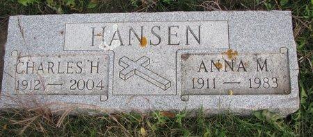 HANSEN, CHARLES H. - Turner County, South Dakota | CHARLES H. HANSEN - South Dakota Gravestone Photos