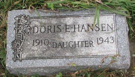 HANSEN, DORIS E. - Turner County, South Dakota   DORIS E. HANSEN - South Dakota Gravestone Photos