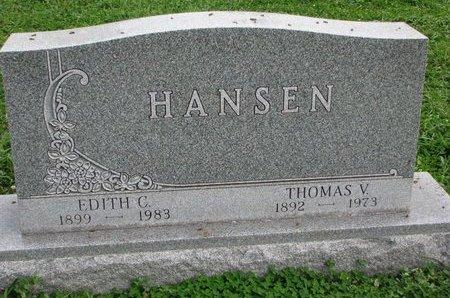 HANSEN, THOMAS V. - Turner County, South Dakota | THOMAS V. HANSEN - South Dakota Gravestone Photos