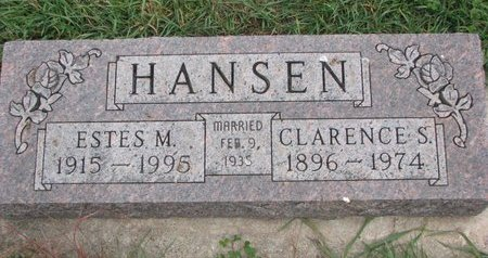 HANSEN, CLARENCE S. - Turner County, South Dakota | CLARENCE S. HANSEN - South Dakota Gravestone Photos