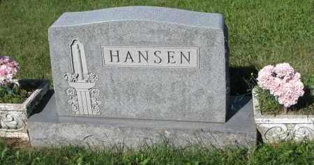 HANSEN, FAMILY STONE - Turner County, South Dakota   FAMILY STONE HANSEN - South Dakota Gravestone Photos