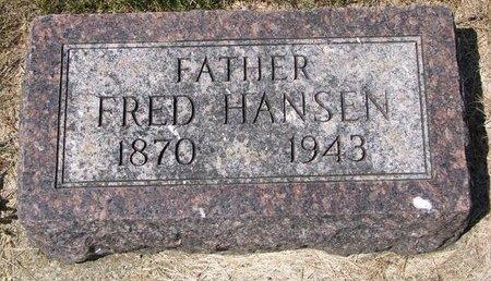 HANSEN, FRED - Turner County, South Dakota | FRED HANSEN - South Dakota Gravestone Photos