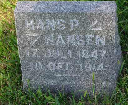 HANSEN, HANS P. - Turner County, South Dakota | HANS P. HANSEN - South Dakota Gravestone Photos