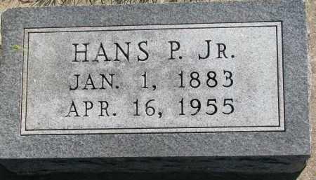 HANSEN, HANS P. JR. - Turner County, South Dakota   HANS P. JR. HANSEN - South Dakota Gravestone Photos