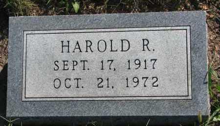 HANSEN, HAROLD R. - Turner County, South Dakota   HAROLD R. HANSEN - South Dakota Gravestone Photos