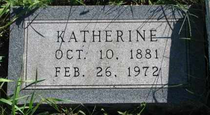 HANSEN, KATHERINE - Turner County, South Dakota   KATHERINE HANSEN - South Dakota Gravestone Photos
