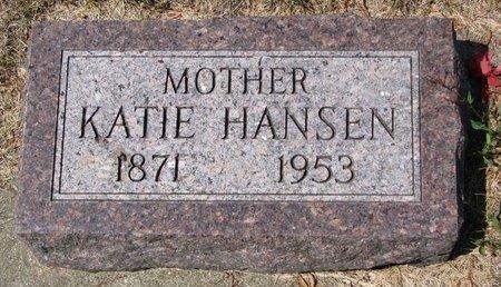 HANSEN, KATIE - Turner County, South Dakota | KATIE HANSEN - South Dakota Gravestone Photos