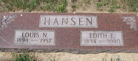 HANSEN, LOUIS N. - Turner County, South Dakota   LOUIS N. HANSEN - South Dakota Gravestone Photos
