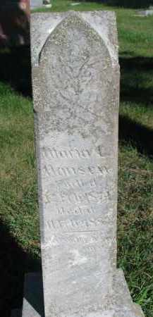 HANSEN, MARIA C. - Turner County, South Dakota   MARIA C. HANSEN - South Dakota Gravestone Photos