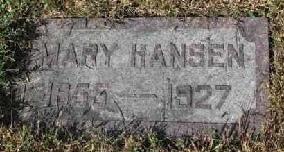 HANSEN, MARY - Turner County, South Dakota | MARY HANSEN - South Dakota Gravestone Photos
