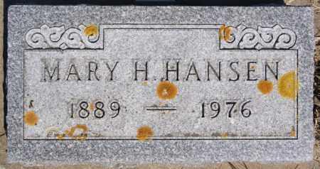 HANSEN, MARY H - Turner County, South Dakota | MARY H HANSEN - South Dakota Gravestone Photos