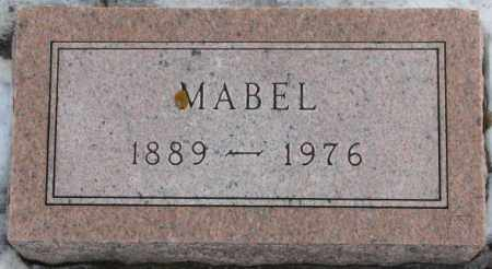 HANSEN, MABEL (FOOTSTONE) - Turner County, South Dakota   MABEL (FOOTSTONE) HANSEN - South Dakota Gravestone Photos