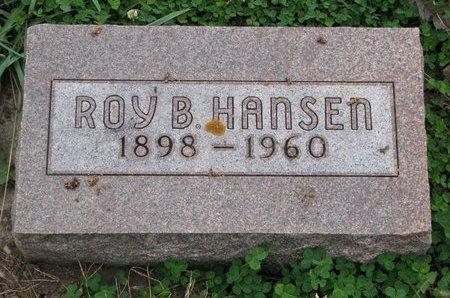 HANSEN, ROY B. - Turner County, South Dakota | ROY B. HANSEN - South Dakota Gravestone Photos