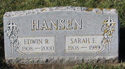 HANSEN, SARAH ELIZABETH - Turner County, South Dakota   SARAH ELIZABETH HANSEN - South Dakota Gravestone Photos