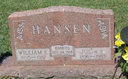 HANSEN, WILLIAM E. - Turner County, South Dakota | WILLIAM E. HANSEN - South Dakota Gravestone Photos