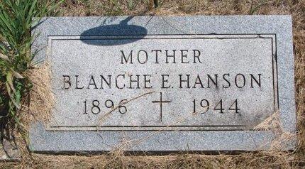HANSON, BLANCHE E. - Turner County, South Dakota | BLANCHE E. HANSON - South Dakota Gravestone Photos