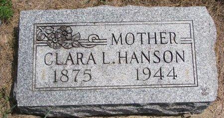 AMUNDSON HANSON, CLARA L. - Turner County, South Dakota | CLARA L. AMUNDSON HANSON - South Dakota Gravestone Photos