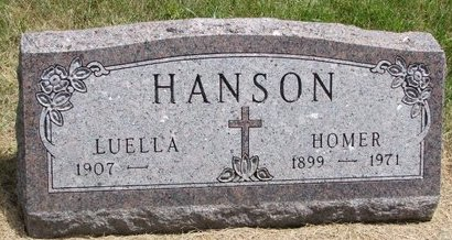 HANSON, HOMER - Turner County, South Dakota | HOMER HANSON - South Dakota Gravestone Photos